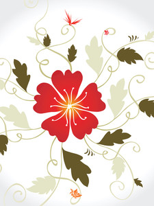 Vector Decorative Floral Series_16