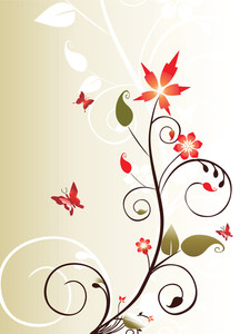 Vector Decorative Floral Series_17