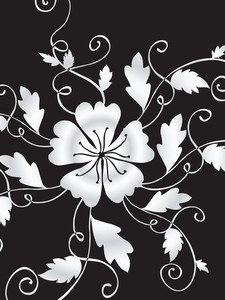 Vector Decorative Floral Series_19