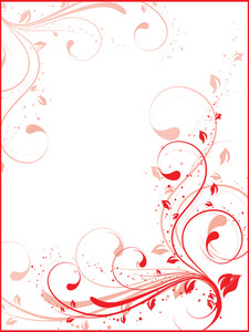 Vector Decorative Floral Series_21