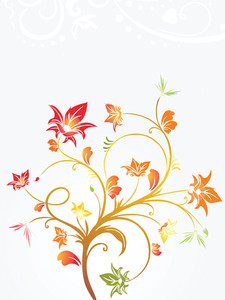 Vector Decorative Floral Series_8