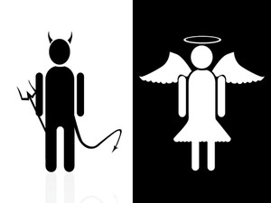 Vector Demon And Angel