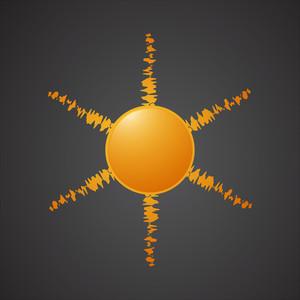 Vector Design Sun