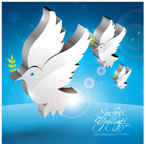 Vector Dove Of Peace