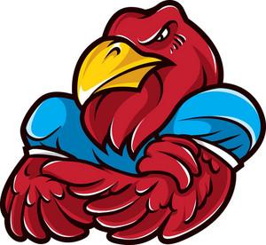 Vector Eagle Mascot
