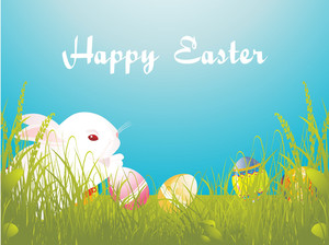 Vector Easter Day Wallpaper