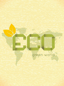 Vector Eco Friendly Design