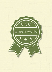 Vector Eco Friendly Label
