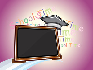 Vector Education Concept Background