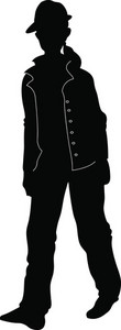 Vector Fashion Man Silhouette