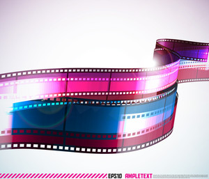 Vector Film Stripe