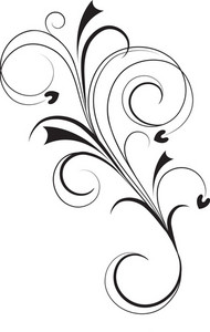 Vector Floral Flourish