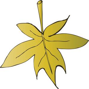 Vector Floral Leaf