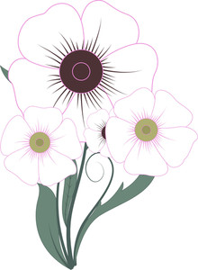 Vector Flowers Design