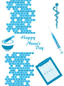 Vector For Happy Nurse's Day