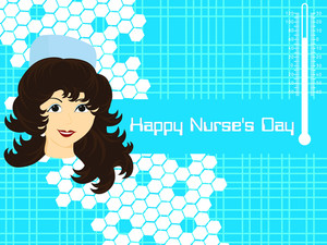Vector For Happy Nurse's Day