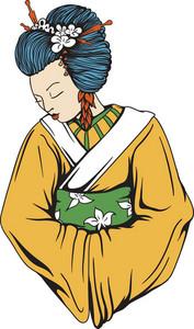 Vector Geisha