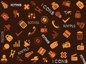 Vector Group Of Icons