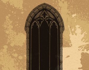 Vector Grunge Gothic Illustration