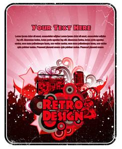 Vector Grunge Music Banner