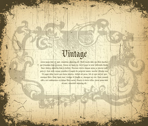 Vector Grunge Vintage Background