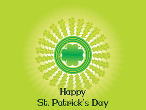 Vector Happy St. Patricks Day Wallpaper