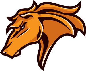 Vector Horse Mascot