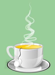 Vector Hot Tea Cup