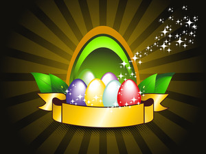 Vector Illustration For Easter Day Celebration