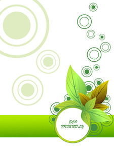 Vector Illustration For Go Green