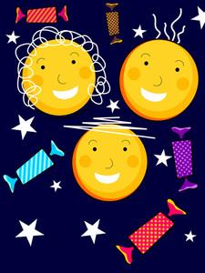 Vector Illustration For Happy Children's Day