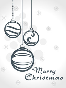 Vector Illustration For Merry Christmas