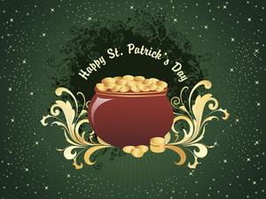 Vector Illustration For Patricks Day