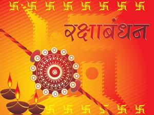 Vector Illustration For Rakshabandhan