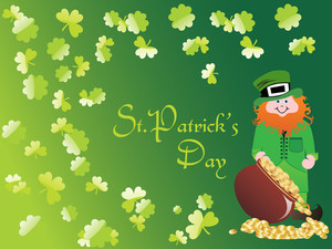 Vector Illustration For St Patrick's Day