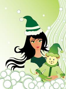 Vector Illustration For St. Patrick's Day