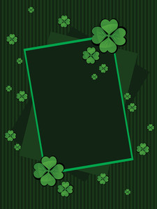Vector Illustration For St. Patricks Day