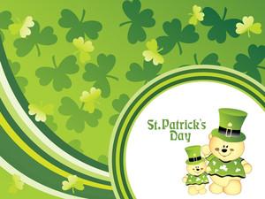 Vector Illustration For St Patrick's Day