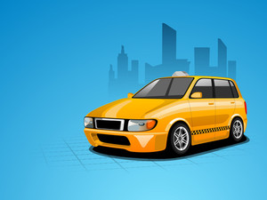 Vector Illustration Of A Car