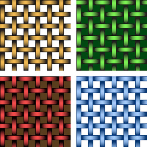 Vector Illustration Of A Set Of Mosaic Pattern