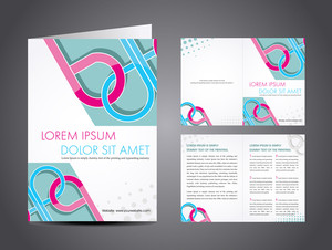 Vector Illustration Of Catalog Or A Brochure Design.