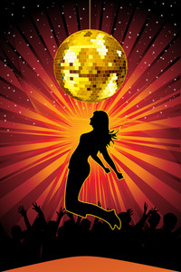 Vector Illustration Of Clubing Background