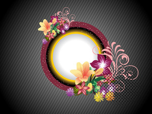 Vector Illustration Of Decorated Frames