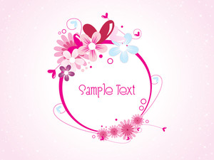 Vector Illustration Of Love Background