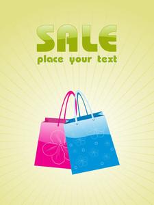 Vector Illustration Of Shopping Bag