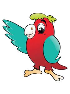 Vector Illustration Parrot