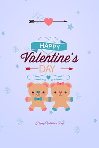 Vector Illustration With Bear (editable Text)