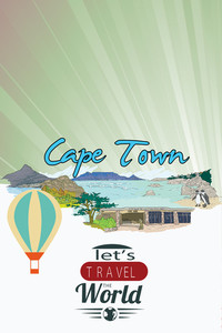 Vector Illustration With Buildings And Monuments (editable Text)
