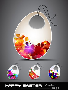 Vector Illustration With Collection Of Four Different Decorative