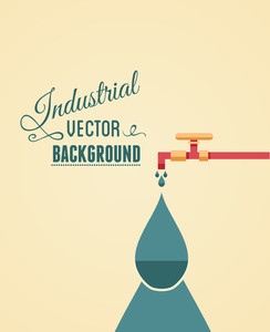Vector Illustration With Minimal Pipe (editable Text)